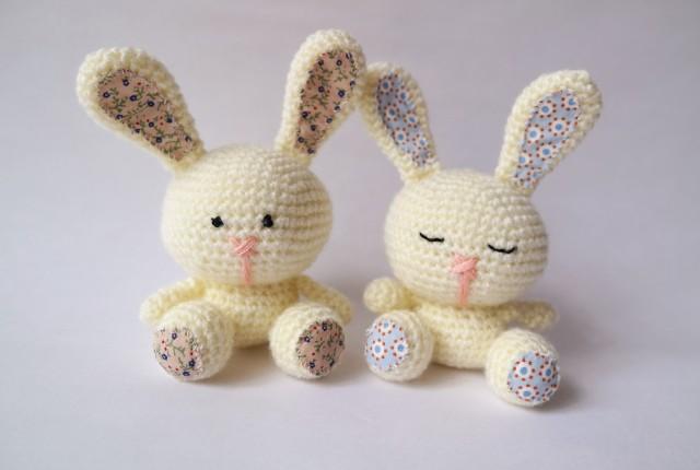 DIY hæklet kanin
