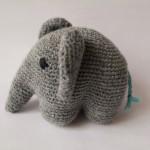 DIY hæklet elefant