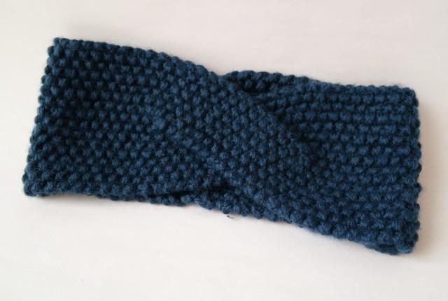 DIY strikket pandebånd