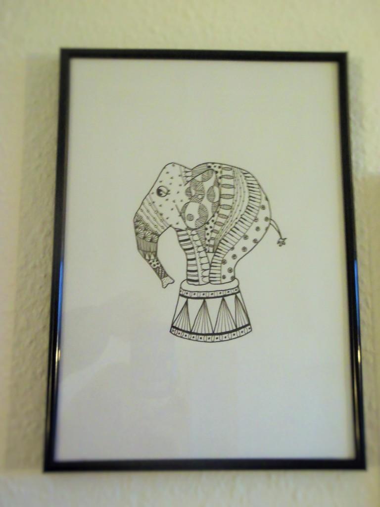 Zendoodle elefant