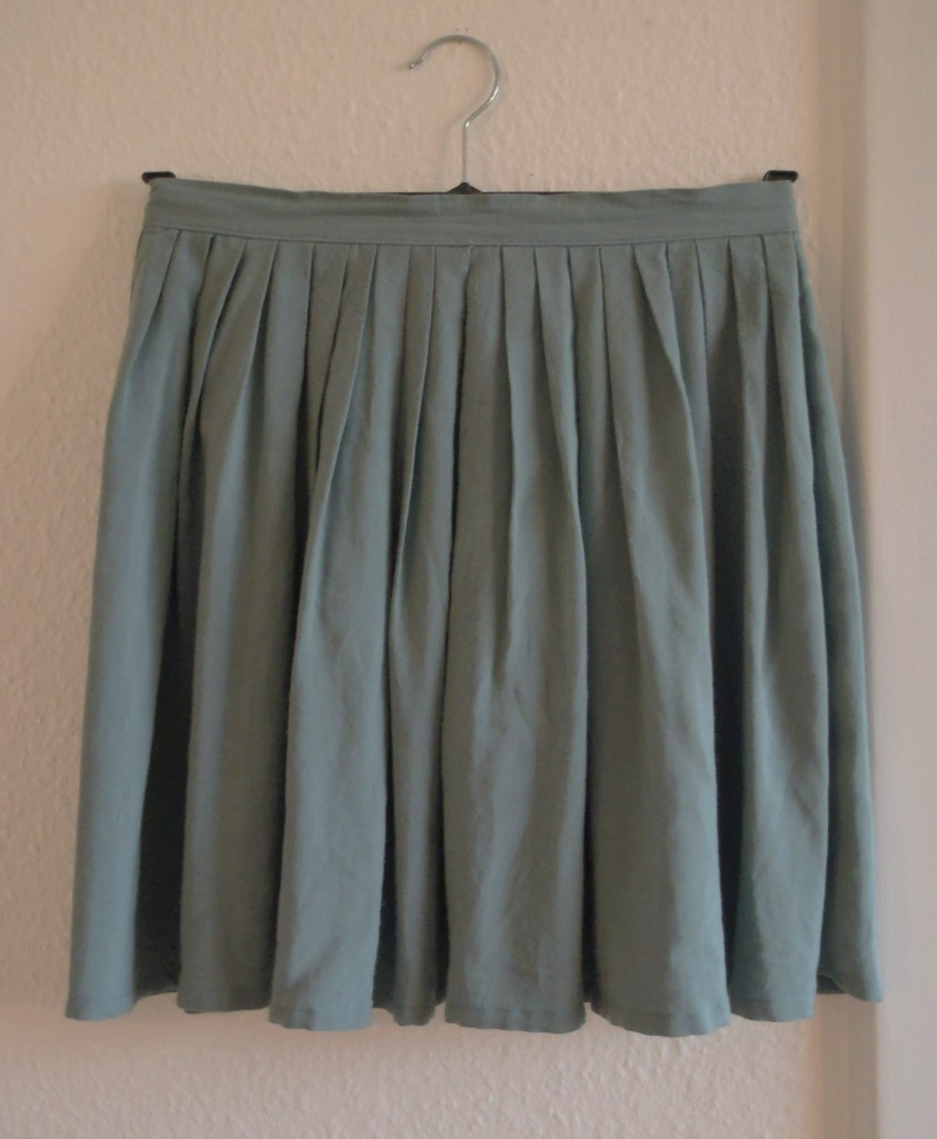 Nederdel med læg