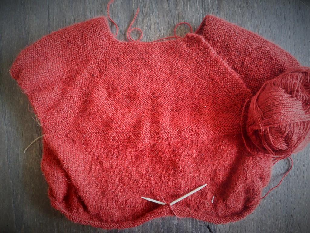 Drops strikket bluse