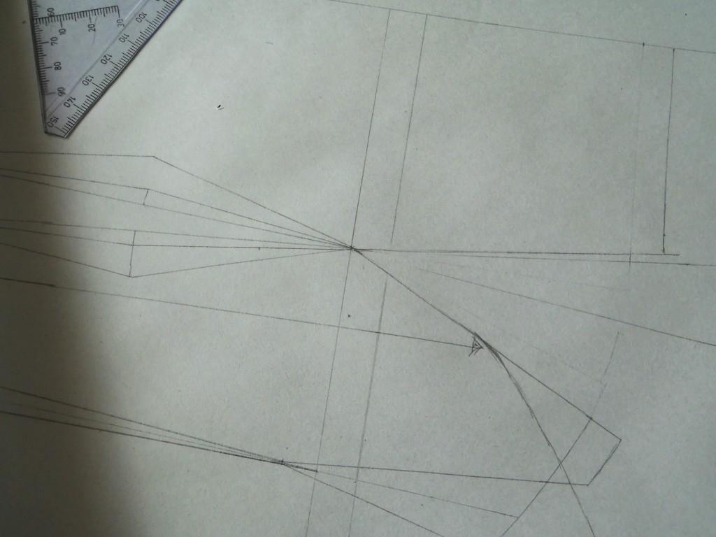 Konstruktion af brudekjole