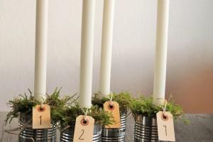 DIY adventskrans