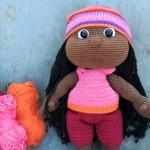 Hæklet dukke