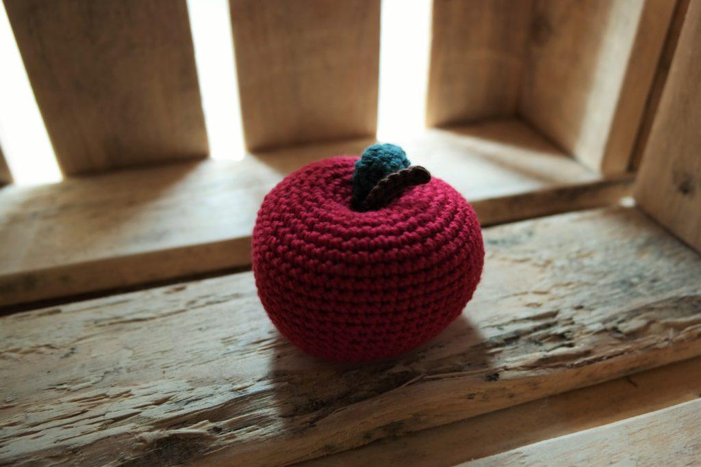 Hæklet æble